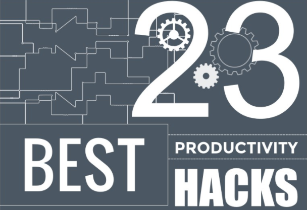 23 Quick and Easy Hacks to Improve Your Productivity