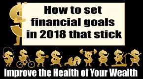 How to set financial goals in 2018 that stick